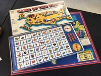 Vintage 1970's GAME OF THE STATES Board Game Milton Bradley