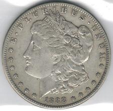 1888-S Uncertified Silver Morgan Dollar VF/EF TMM*