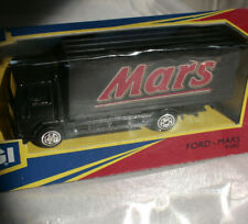 CORGI FORD CAMION MARS CHOCOLATE 10.5mm •  ©1991 • BAS PLASTIQUE •  BOITE OUVERT