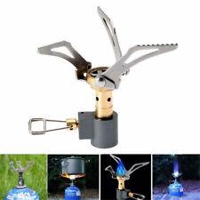 Brs-3000t Folding Mini Ultralight Titanium Outdoor Camping Cook Burner Gas Stove