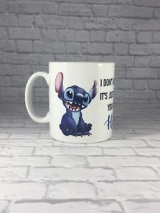 Lilo & Stitch Personalised Attitude Mug