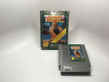 RING KING - NES GAME AND BOX ONLY *CLEANED AND TESTED*