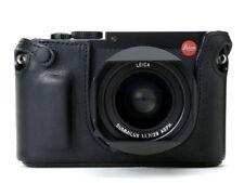Artisan & Artist Protecteur half case Leica Q Noir Boutons-Q comité exécutif. cuir