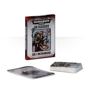 CULT MECHANICUS DATACARDS - WARHAMMER 40K - GAMES WORKSHOP - SENT FIRST CLASS