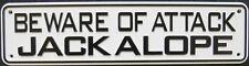 Beware of Attack Jackalope Sign
