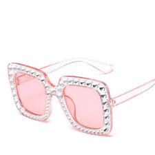 Women RETRO Sunglasses Vintage Glasses Square Frame UV400 Eyewear Shades