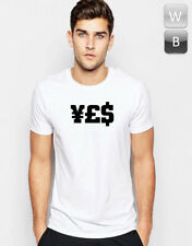 Yes Money T-shirt Dope Fresh Cool Hipster Rock Graphic Printed Top Tee T Unisex