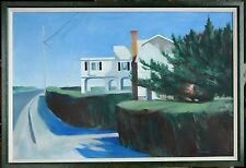 "Original Oil on Canvas ""The Whale House"" by Ross D Jahnig"
