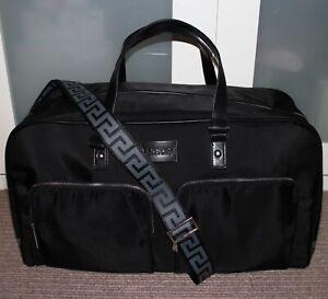 VERSACE Executive Style Large Duffle Bag / Travel / Weekender / Work / Gym