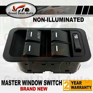 Power Master Window Switch For Ford Territory SX SY SZ Non Illumination Black