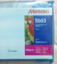 Genuine Mimaki SB53 Dye Sublimation Ink - Magenta 440mL