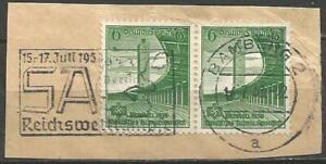 Germany (Third Reich) 1938 Reichswettkaempfe SA 15.-17.Juli Bamberg Cancellation