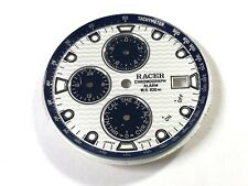 Esfera RACER Chronograph Alarm 30mm Original Dial reloj Miyota 6W70