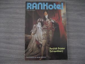 RANK. HOTELS GUESTS. BROCHURE  from the    1980s