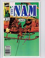 The Nam #42 Michael Golden Signed 1990 High Grade