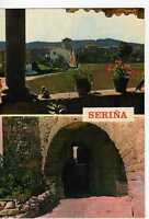 Postal ( Girona ) Seriña, Arco Románico y vista parcial.