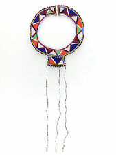 Vintage African Masai Beaded Necklace Wedding Collar and Shells, Dowry 4 Cows