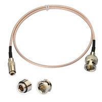 BNC Male to DIN 1.0/2.3 Male 75Ω SDI Cable 50cm for Blackmagic BMCC BMPCC Camera