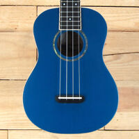 Fender Zuma Classic Concert Uke, Walnut Fingerboard, Lake Placid Blue