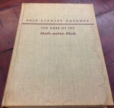 The Case Of The Moth-Eaten Mink - 1952 First Edition Signed HC - Perry Mason