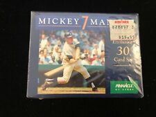 1992 Pinnacle HOF Mickey Mantle Complete 30 Card Set - Brand New Factory Sealed