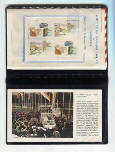 S11413) Vatican 198O FDC Rome Pope John Paul II - Germany (8+ Envelopes)