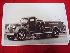 1940 FORD FIRETRUCK KEMMERER WYOMING 11 X 17  PHOTO   PICTURE