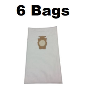 6x Vacuum Cleaner Bags for KIRBY SENTRIA Synthetic Micro Filtration G10 G10P TE