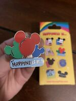 Happiness is... -Mickey Mouse Shaped Balloons- Mystery Disney Pin
