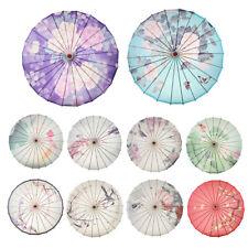 Vintage Papierschirm Regenschirm Sonnenschirm Tanz Schirm Deko Schirm mit