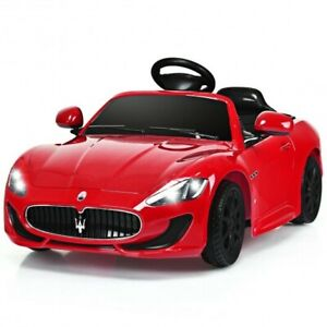 Licensed Maserati GranCabrio 12v Battery Powered Vehicle with Remote Control an