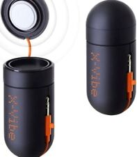 Portable Vibration Speaker, X-Vibe, instant volume anywhere,anytime