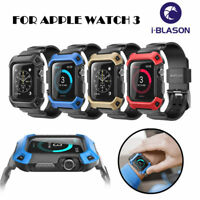 For Apple Watch 3 38mm/42mm SUPCASE [UBPro] Full-Body Band Shockproof Case Cover
