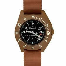 US Military Pilot Watch Marathon Navigator Date Aviation Type III Class 1 H3 TAN