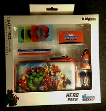 Nintendo 3DS, DS Lite & DSi Console Case Marvel Super Hero Pack Hulk, Spiderman