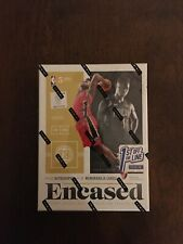 2019-2020  Panini Encased Basketball First Off the Line Hobby Box FOTL IN HAND