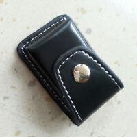 Fashion Leather Clip-On Lighter Sheath Pouch Case Holder DEKO U6Y5