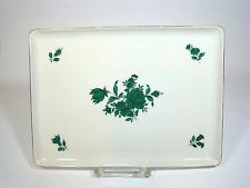Wien Augarten Maria Theresia Dekor 5098 Platte Vienna Porcelain Plate Austria