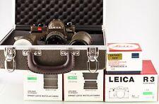 Leica R 3 Safari Electronic Grün Set 28 50 180