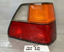 1985-1992 VolksWagen Golf Right Pass Genuine OEM tail light 45 4D3