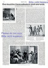 Coleurstudent Bericht 1914 schlagende Studentenverbindung Burschenschaft  -