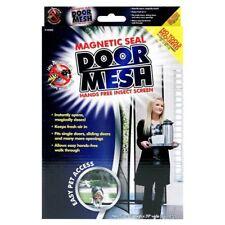 HAND-FREE Magic Mesh tenda SCHERMO RETE PORTA A CHIUSURA MAGNETICA INSETTI Stopper
