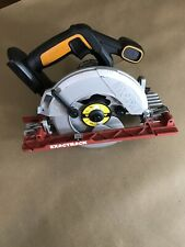 "WORX WX530L 20v 6-1/2"" Power Share ExacTrack Circular Saw - Bare Tool"