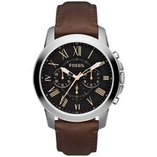 Fossil FS4813 Chronograph Men's Leather Watch