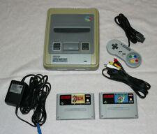 Super Nintendo Entertainment System Super Set Entertainment System Grau...