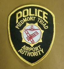 RARE NORTH CAROLINA Peidmont Triad International Airport Police Department PATCH