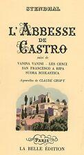 CHOPY - STENDHAL (Marie-Henri Beyle De Stendhal), L'Abbesse de Castro