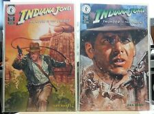 Indiana Jones Thunder in the Orient Comics 1-6 Hugh Fleming art Boarded Bagged
