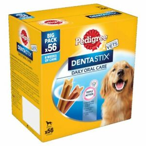 Dog Oral Care Large Dogs Dentastix 56 Fresh Bundle Pack Healthy Strong Gums