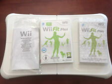 Nintendo Wii Fitness Balance Board With Wii Fit Plus Game